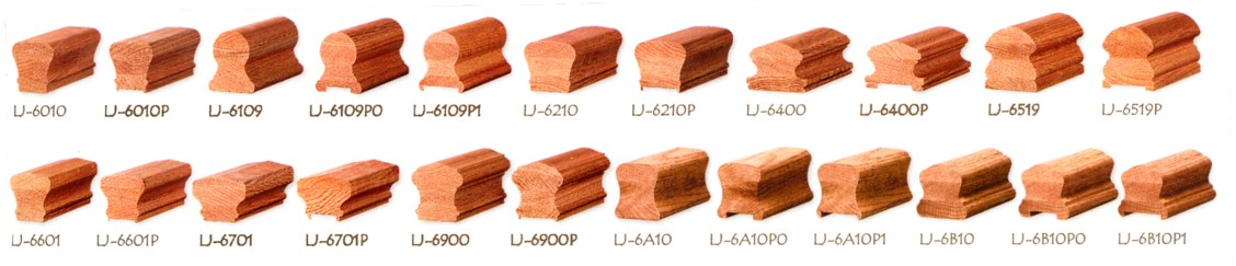 Wood Handrail Profiles Wood Handrail 6910 Stair Parts Com